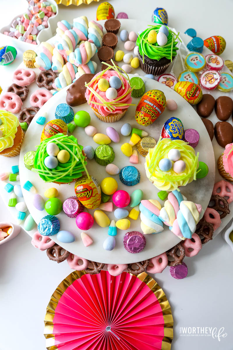 Easter Candy Grazing Board