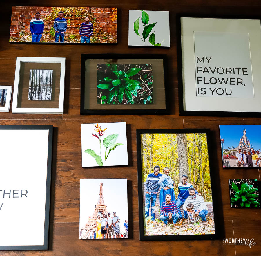 how to create a gallery wall for your living room