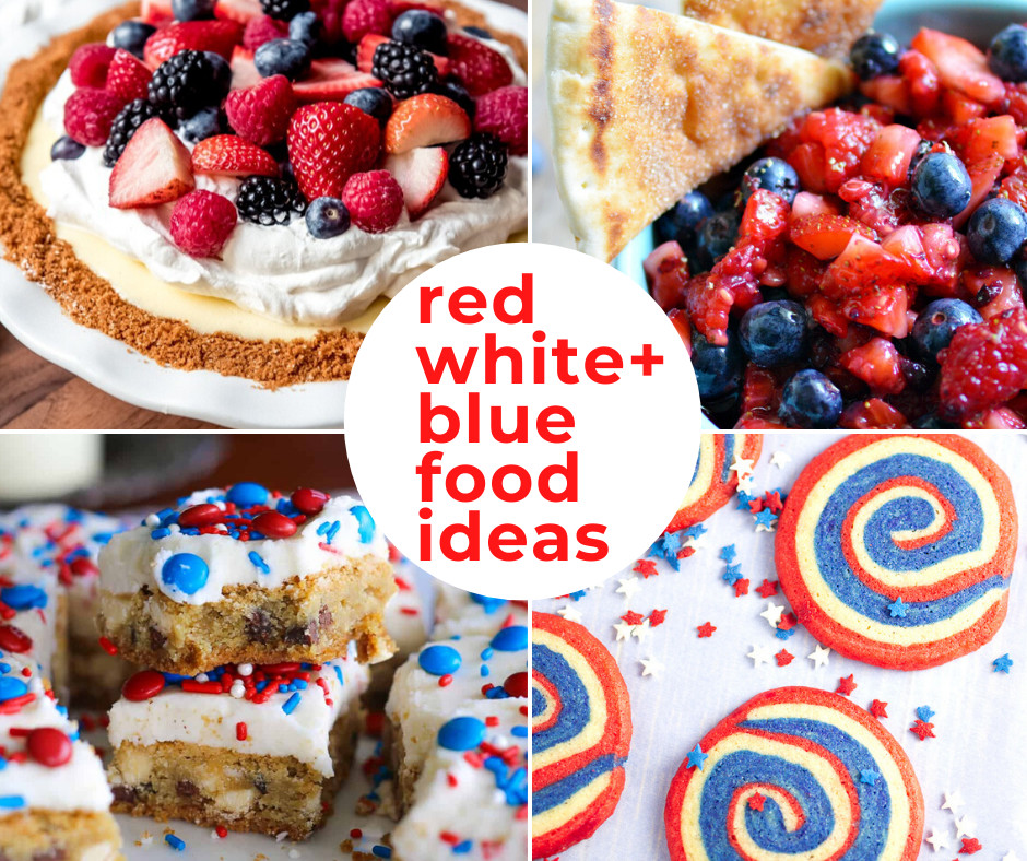 45 of the BEST 4th of July Food Ideas