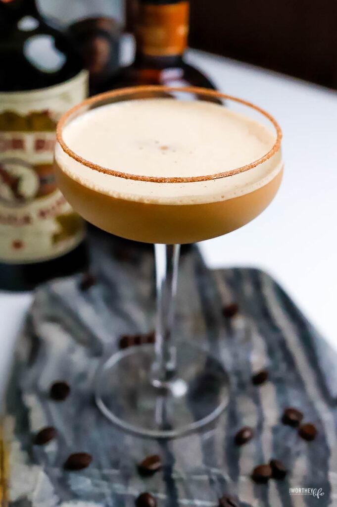 dark rum coffee cocktail