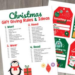 Christmas Gift Giving Rules