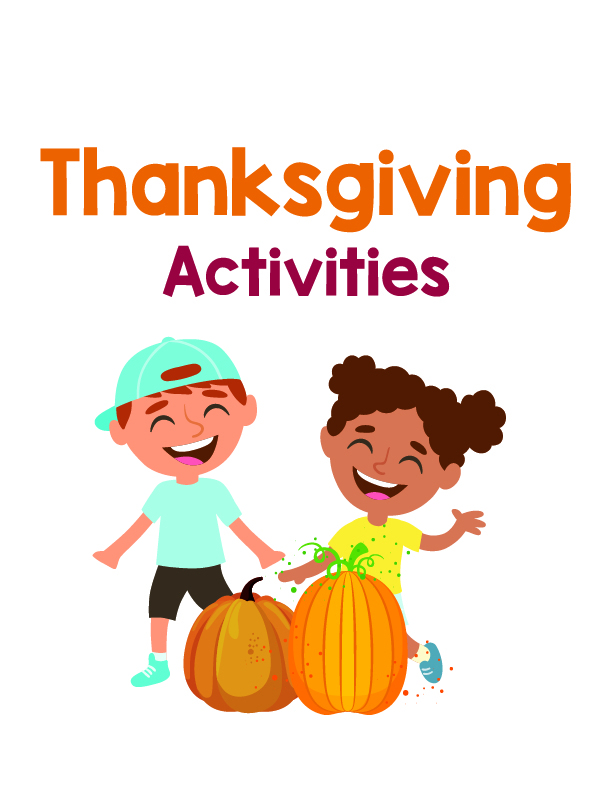 Thanksgiving Kid Activities Printables