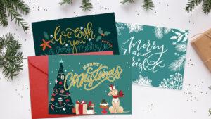 Free Printable Christmas Cards