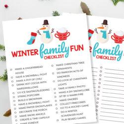 Winter Bucket List Ideas