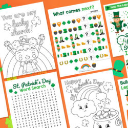 St. Patrick's Day Worksheets - Free Printables