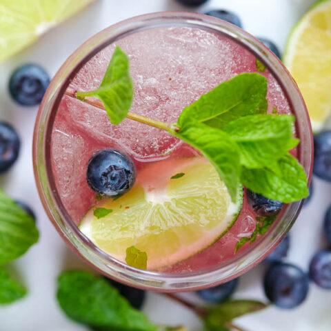 Blueberry Mint Mojito Recipe