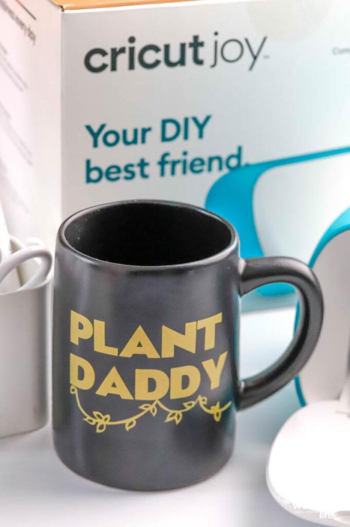 DIY Plant Dad Mug
