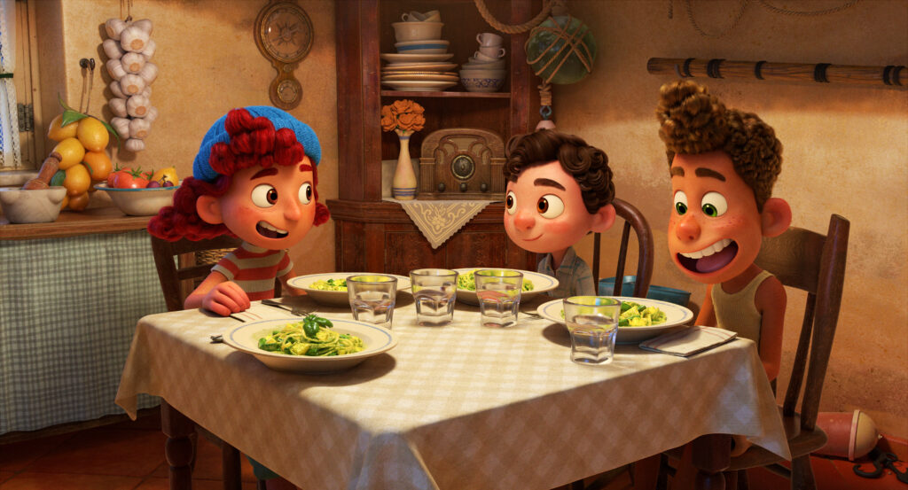 Fun facts from Disney/Pixar's Luca