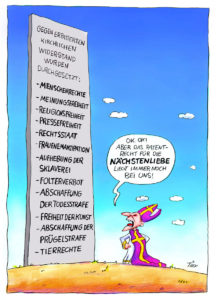 Nächstenliebe - (c) Jacques Tilly