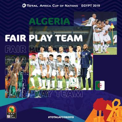 المنتخب الجزائري أفضل فريق في الدور الأول