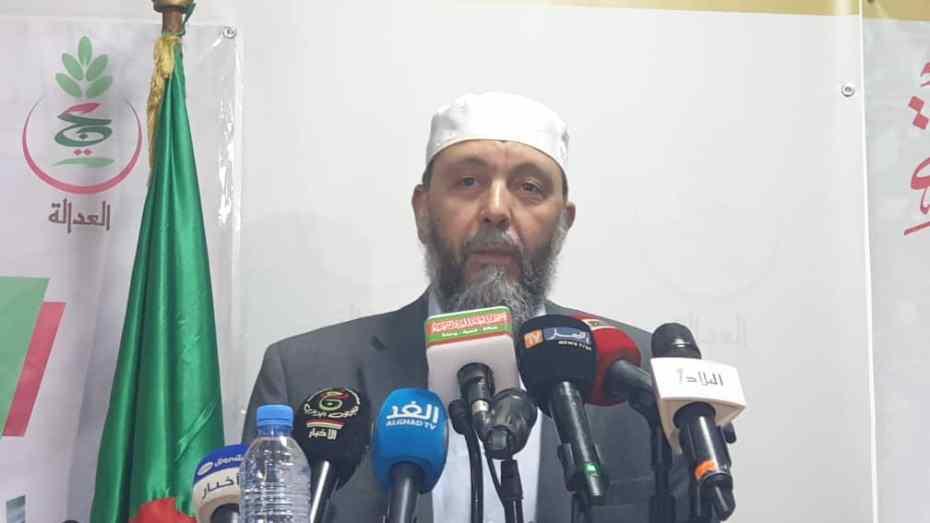 جاب الله: لا اثق في جميع المترشحين الحاليين بمن فيهم بن فليس