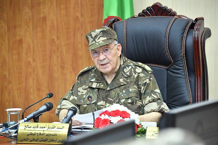 قايد صالح: الرئاسيات استكمالا لمشوار الفاتح نوفمبر