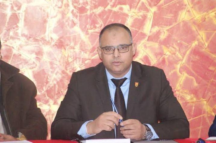 محمد جواج - رئيس الاتحادية الجزائرية للفوفينام فيات فوداو
