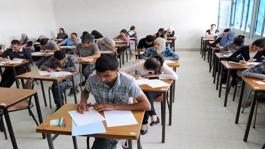امتحانات البكلوريا