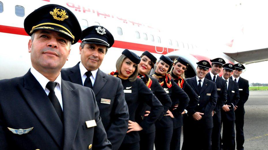 توقيف 40 عاملا والنقابة الوطنية لملاحي الطيران ترد