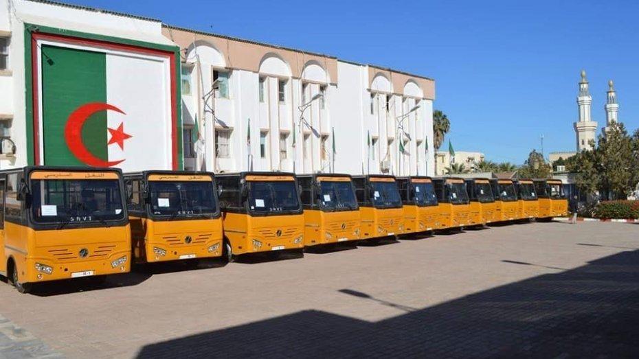 حافلات مدرسية للمناطق النائية تجسيدا لقرارات تبون