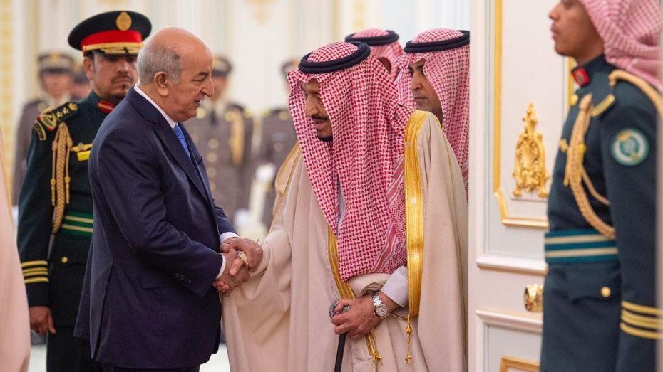 العاهل السعودي محمد سلمان يكشف موقف السعودية من أزمة الجزائر الأخيرة