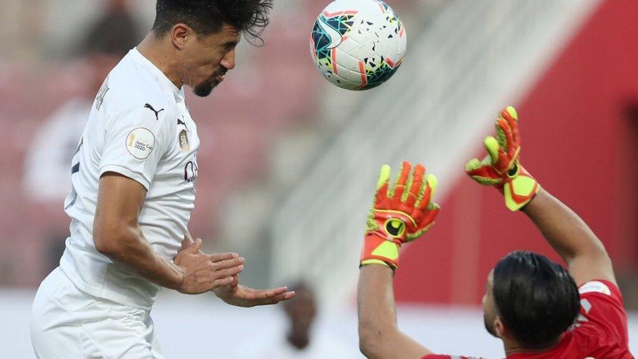 بالفيديو| بونجاح يُسجّل ثنائية في منافسة كأس أمير قطر