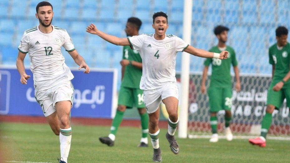 بالصور| الخضر يتأهلون في المنافسة العربية على حساب البلد المستضيف