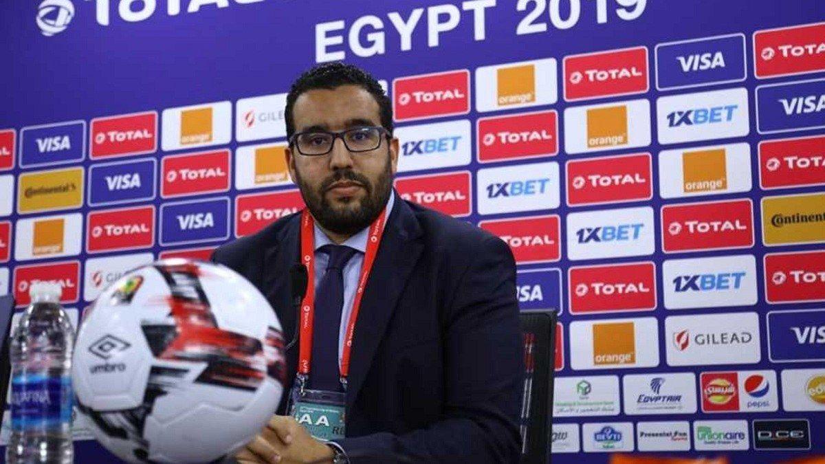عبد المنعم باه الأمين العام للاتحاد الإفريقي لكرة القدم