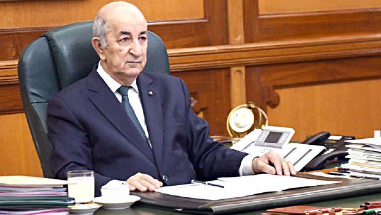 تبون يرحب بتشكيل حكومة الوحدة الوطنية في ليبيا