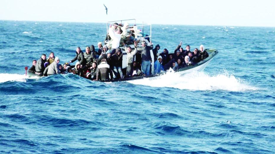 دفاع:إحباط محاولات هجرة غير شرعية لـ37 مهاجر مغربي