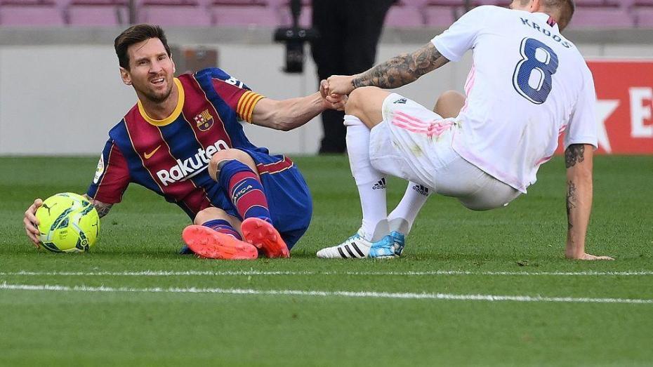 بالفيديو.. ريال مدريد يُطيح بغريمه التقليدي برشلونة في معقل الكامب نو