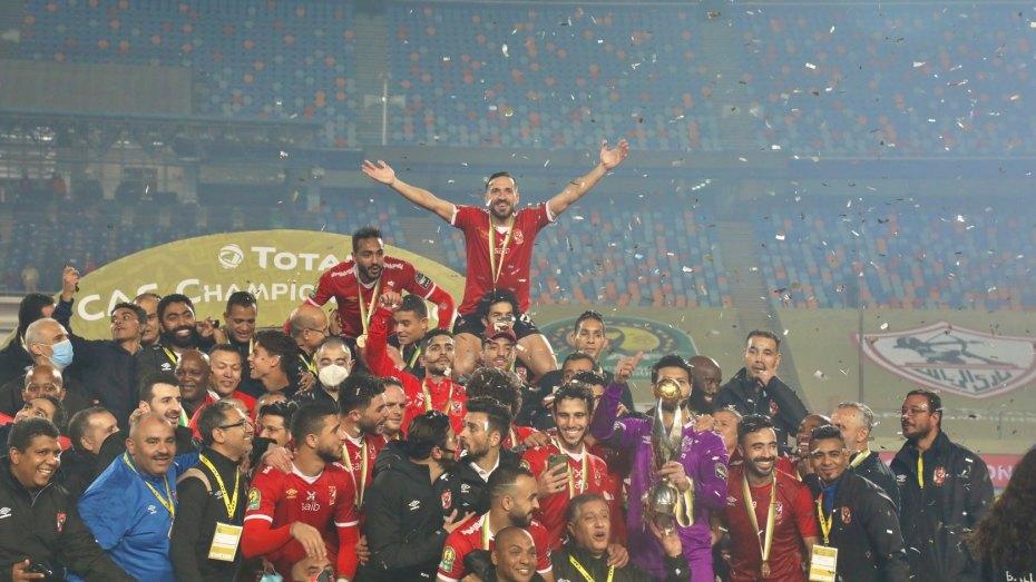 الأهلي يتوج بلقب دوري أبطال أفريقيا