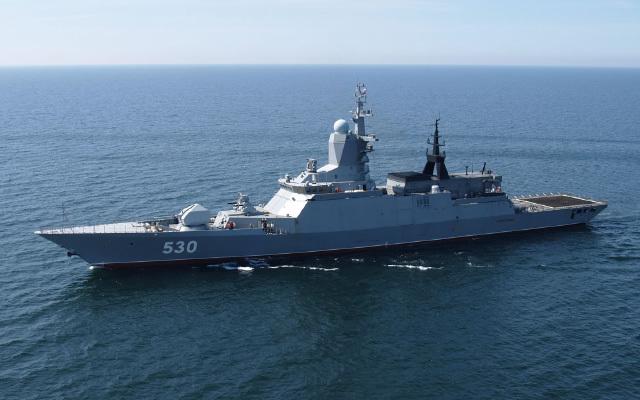 الجزائر تشتري 3 سفن حربية روسية الصنع لتدعيم أسطولها