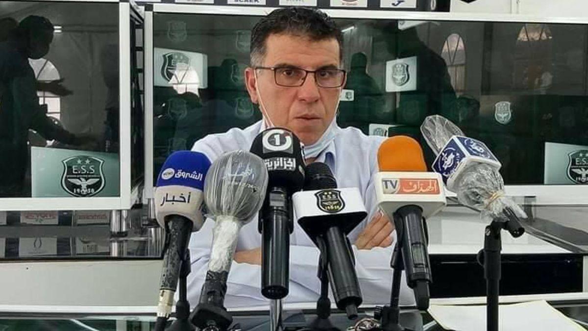 عز الدين أعراب رئيس مجلس إدارة وفاق سطيف