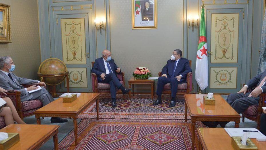جراد يستقبل وزير الخارجية البرتغالي