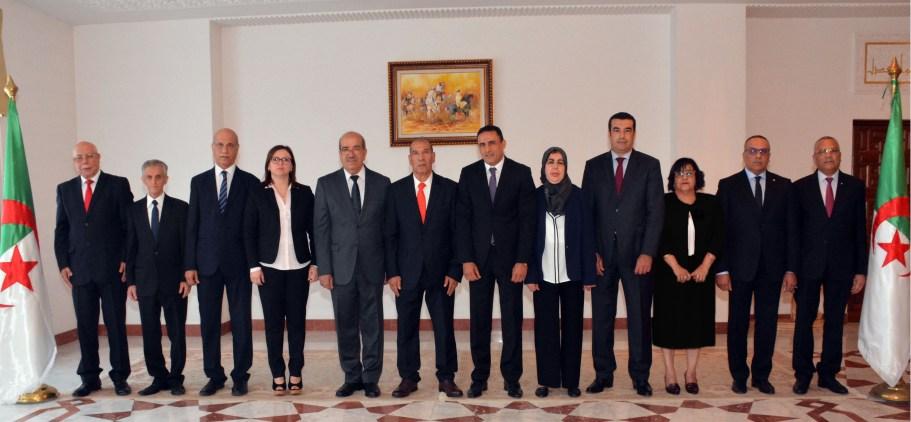 أعضاء المجلس الدستوري
