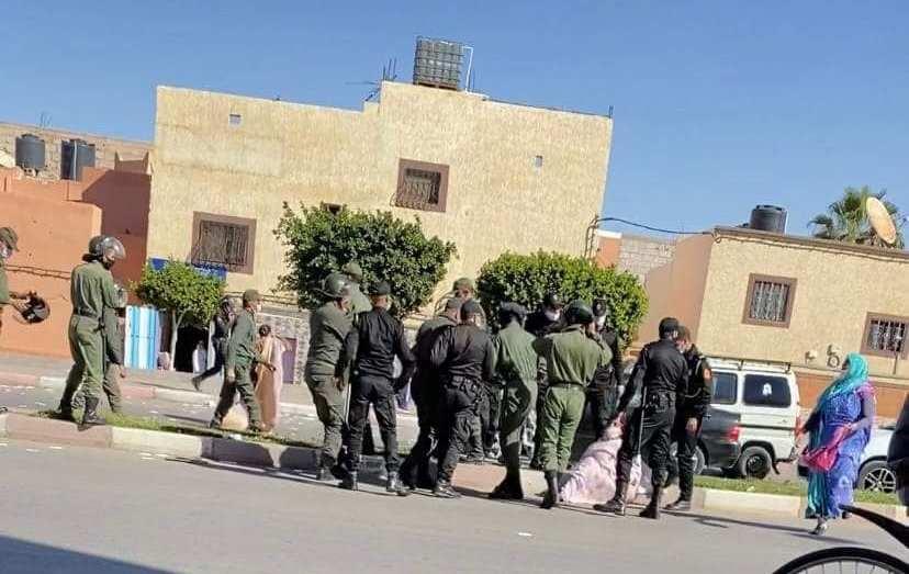 هيئة صحراوية تندد بانتهاكات القوات المغربية لكرامة النساء الصحراويات