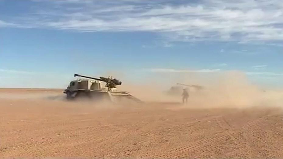 وزارة الدفاع تؤكد تأمين الجيش الجزائري للحدود البرية والمداخل البحرية