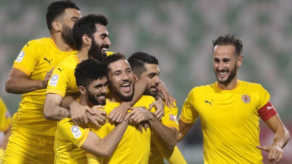 بالفيديو.. يوسف بلايلي يسجل هدفا عالميا في كأس أمير قطر