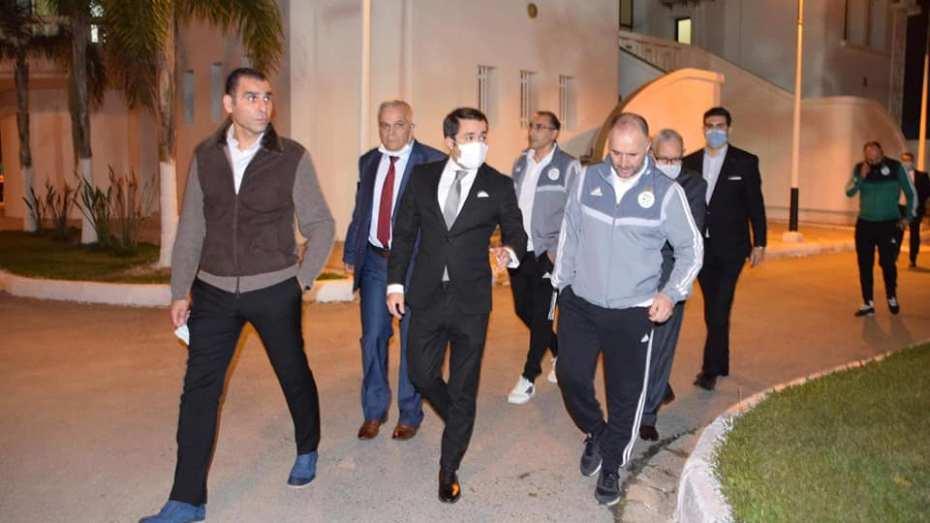 """الوزير خالدي يكشف موقفه من ترشح زطشي لعضوية """"الفيفا"""""""