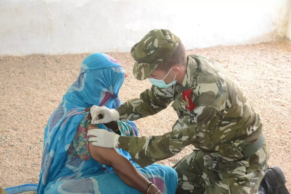 الجيش يطلق حملة تلقيح ضد الأنفلونزا الموسمية بتمنراست