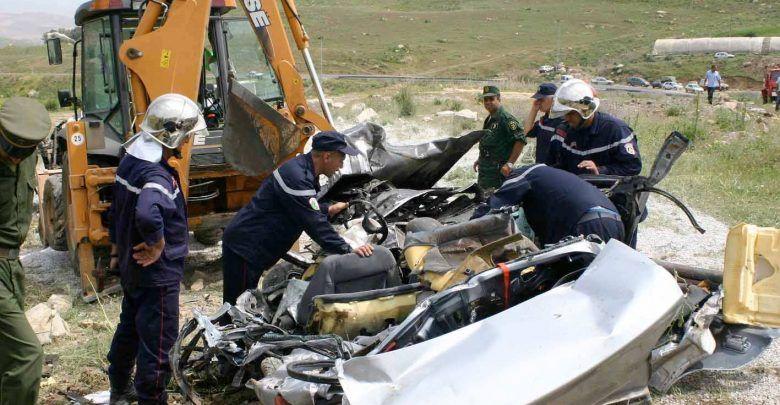 حوادث المرور: وفاة 3 أشخاص وإصابة 411 آخرين خلال أسبوع