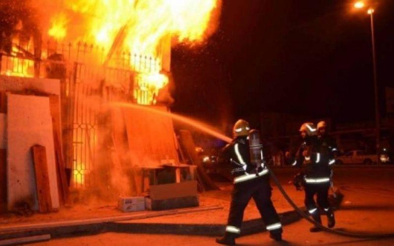 الحماية المدنية تتدخل لإخماد حريق مهول بسكيكدة