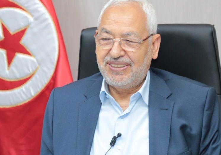 رئيس حركة النهضة راشد الغنوشي يهنئ الرئيس تبون بعودته إلى الجزائر