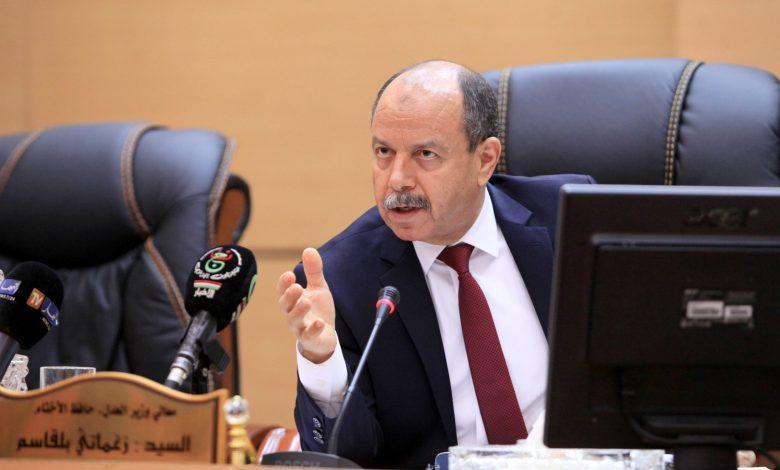 وزير العدل بلقاسم زغماتي يرد على رسالة الناشط السياسي رشيد نكاز