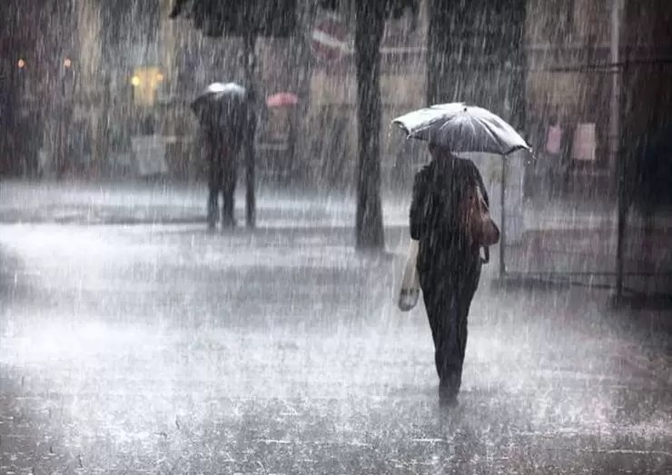 تساقط أمطار رعدية على 20 ولاية