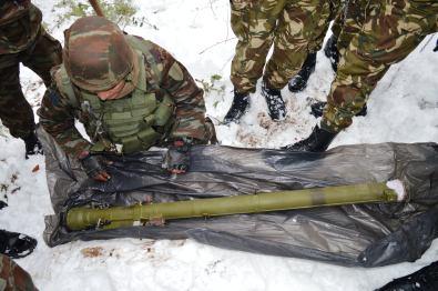 الجيش يحجز صواريخ مضادة للطائرات3