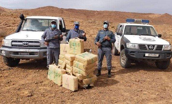 العثور على كميات كبيرة من الكيف في ولاية حدودية مع المغرب
