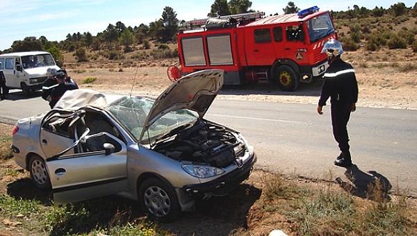 وفاة 4 أشخاص في 108 حادث مرور نهاية الأسبوع
