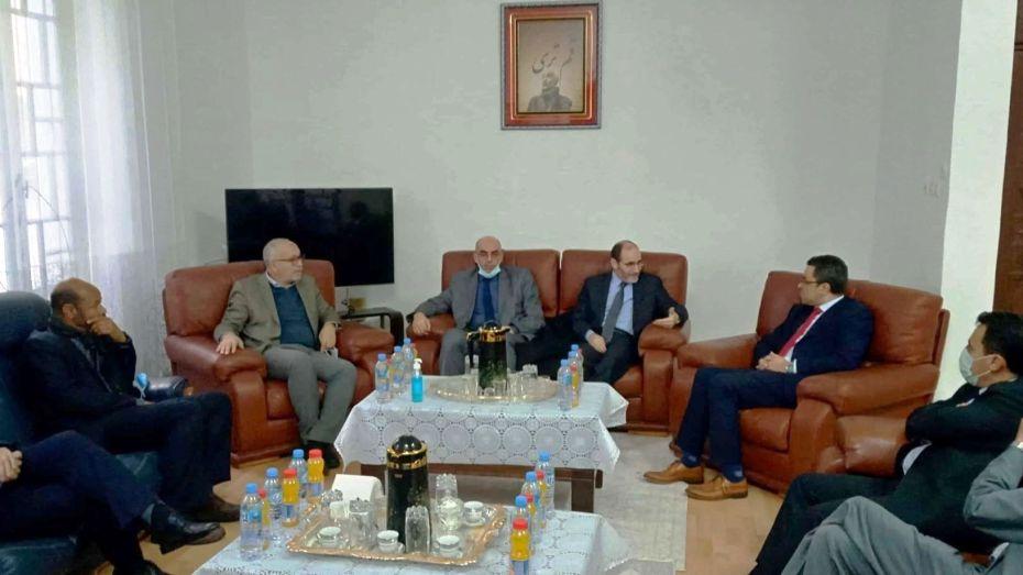 لقاء بين وفد من حركة حمس والقيادة الوطنية للأفافس