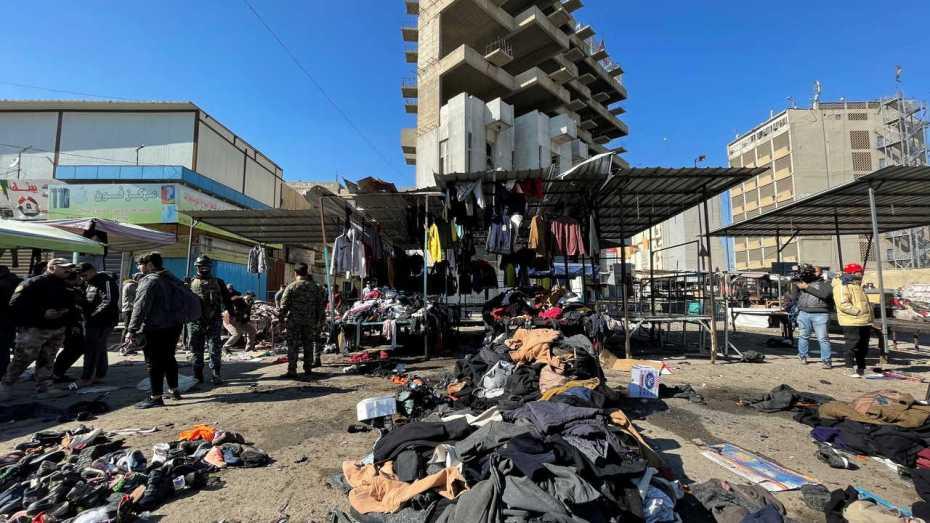 """العراق.. عشرات القتلى والجرحى جراء تفجيرين """"إرهابيين"""""""