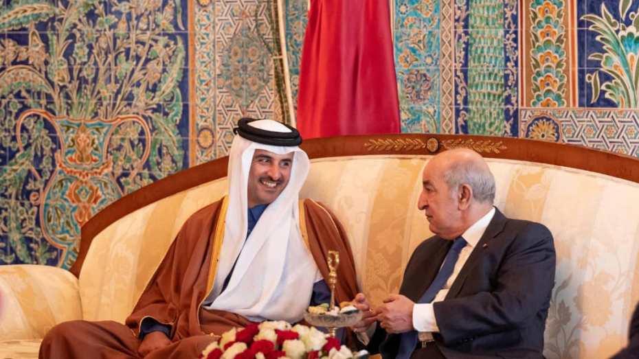 أمير قطر يهنئ الرئيس تبون بنجاح العملية الجراحية