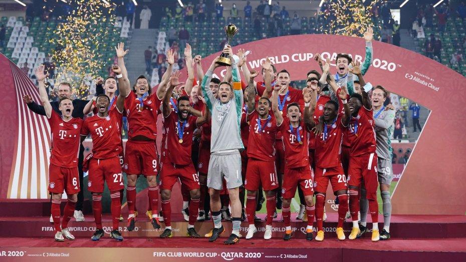 بايرن ميونيخ يتوج بلقب كأس العالم للأندية