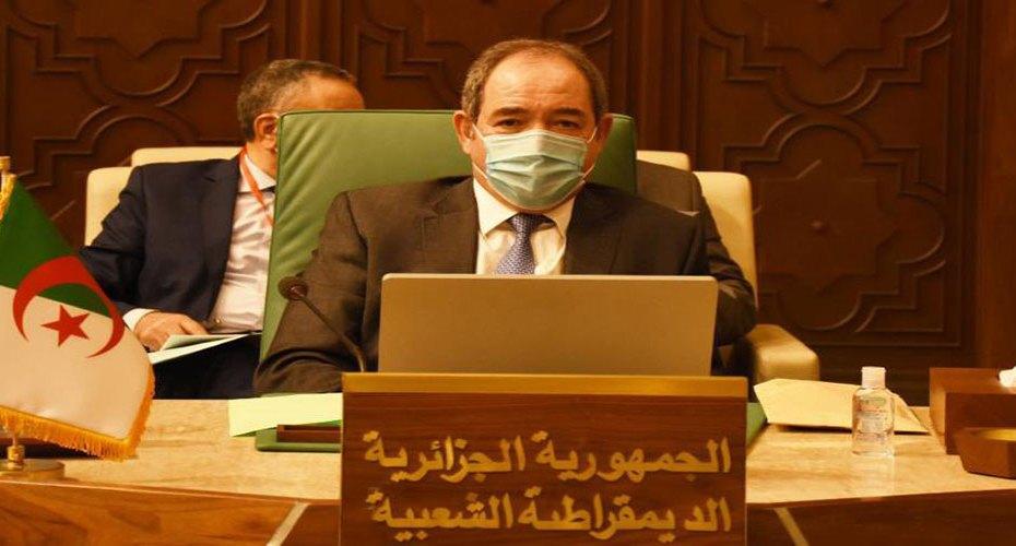 بوقدوم يؤكد موقف الجزائر الثابت حيال القضية الفلسطينية